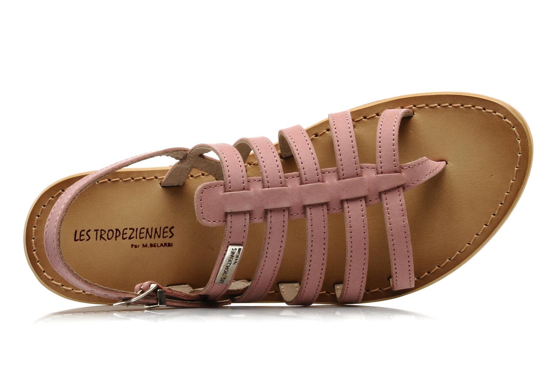 Sandales et nu-pieds Les Tropéziennes par M Belarbi Hook Rose vue gauche
