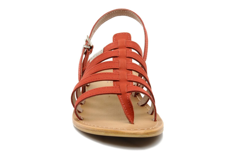 Sandales et nu-pieds Les Tropéziennes par M Belarbi Hook Rouge vue portées chaussures