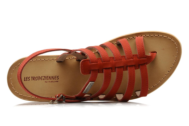 Sandales et nu-pieds Les Tropéziennes par M Belarbi Hook Rouge vue gauche