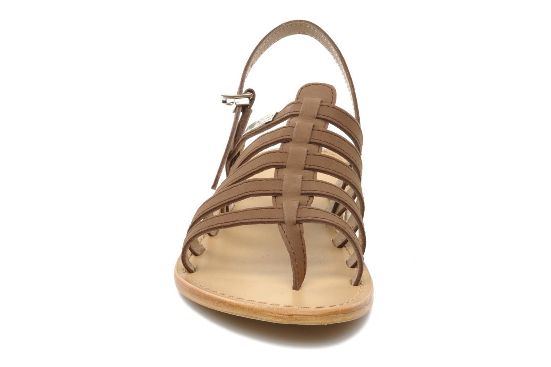 Sandals Les Tropéziennes par M Belarbi Hook Brown model view