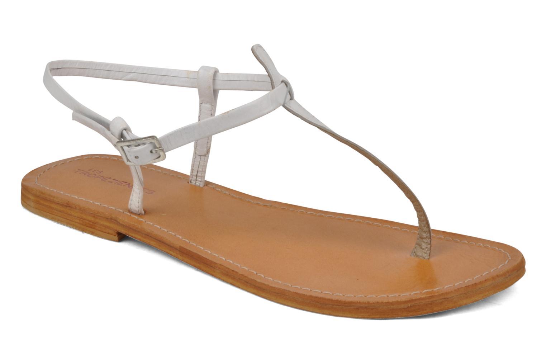 Sandals Les Tropéziennes par M Belarbi Narvil White detailed view/ Pair view