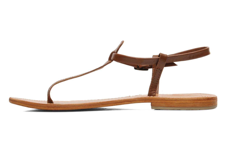 Sandals Les Tropéziennes par M Belarbi Narvil Brown front view