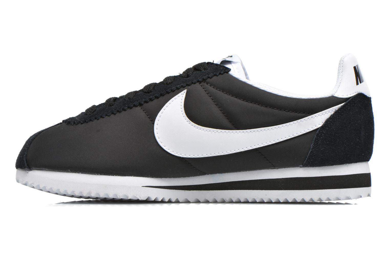 Sneaker Nike Wmns Classic Cortez Nylon schwarz ansicht von vorne