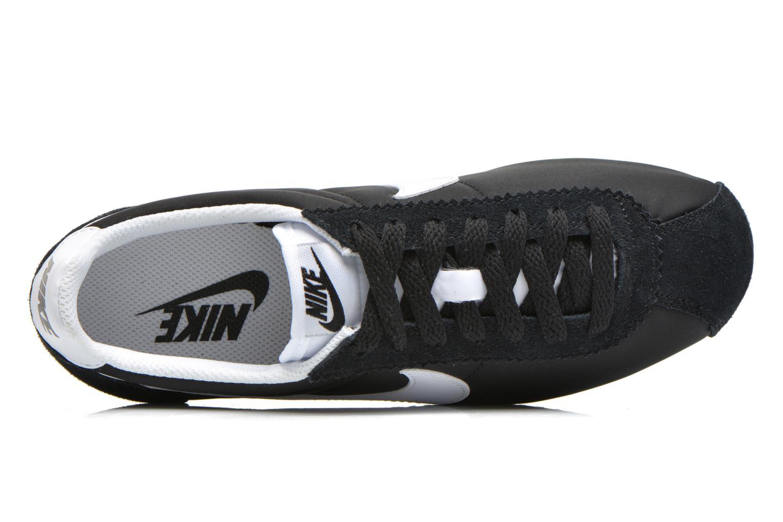 Sneaker Nike Wmns Classic Cortez Nylon schwarz ansicht von links