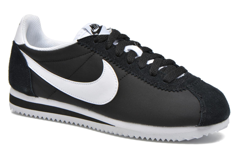 Sneaker Nike Wmns Classic Cortez Nylon schwarz detaillierte ansicht/modell