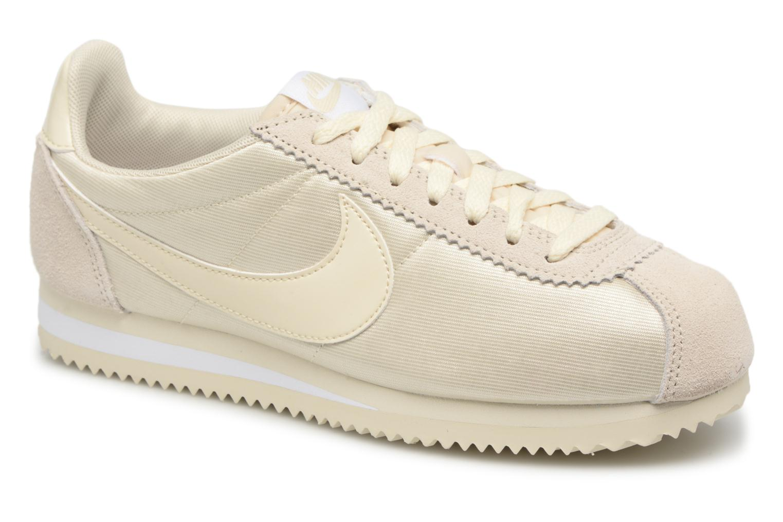 Deportivas Nike Wmns Classic Cortez Nylon Beige vista de detalle / par
