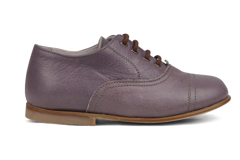 Chaussures à lacets PèPè Coma Violet vue derrière