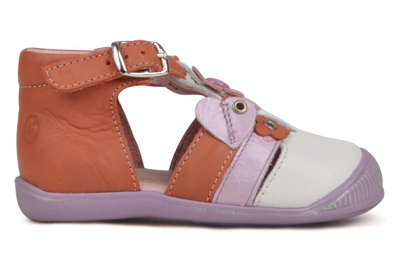 Sandalen GBB Lou Multicolor achterkant