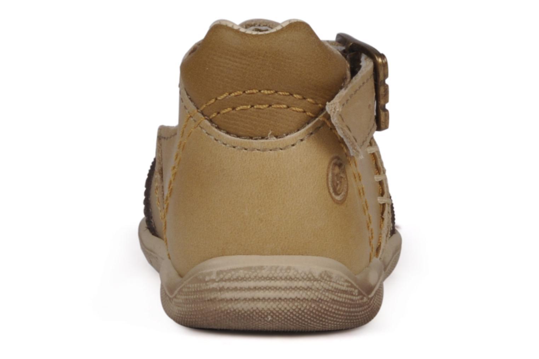 Stiefeletten & Boots GBB Leopold braun ansicht von rechts