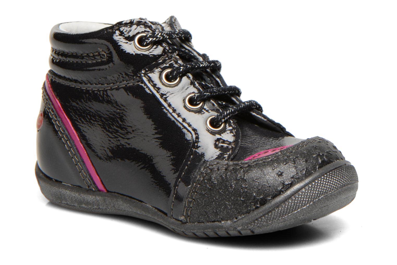 Boots en enkellaarsjes GBB Laure Zwart detail