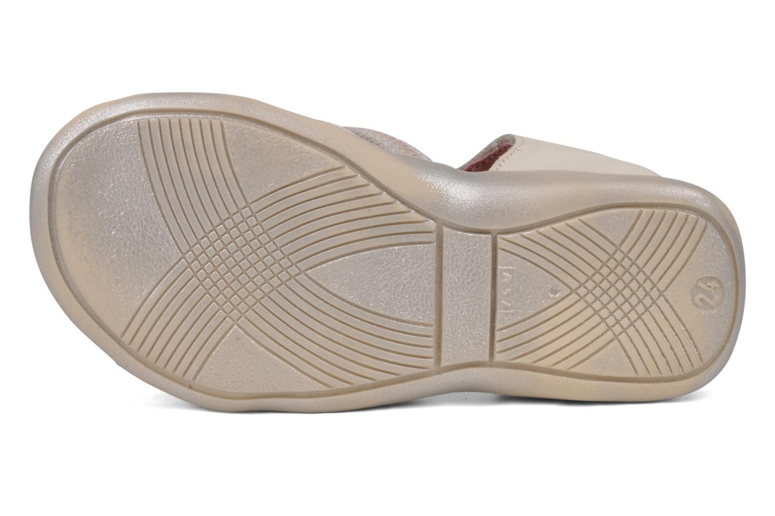 Sandals GBB Lorie Beige view from above