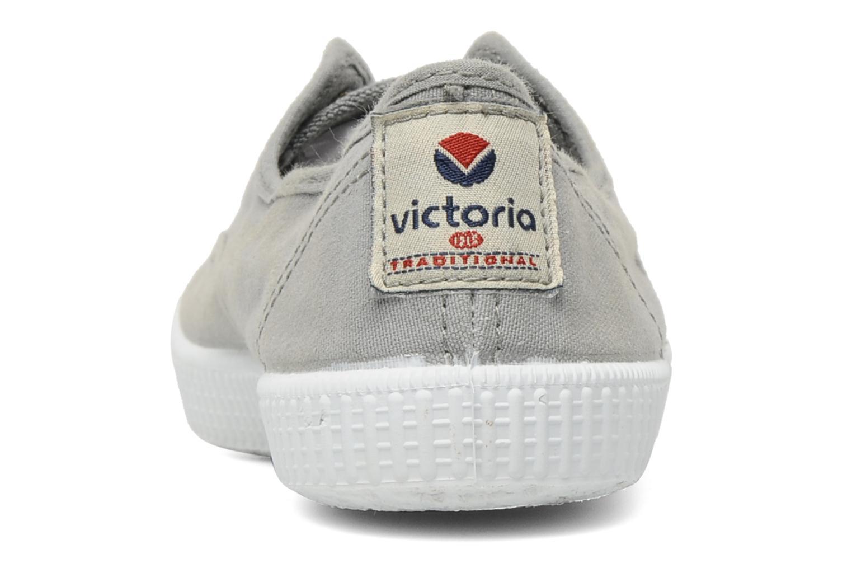 Sneaker Victoria Victoria Elastique W grau ansicht von rechts