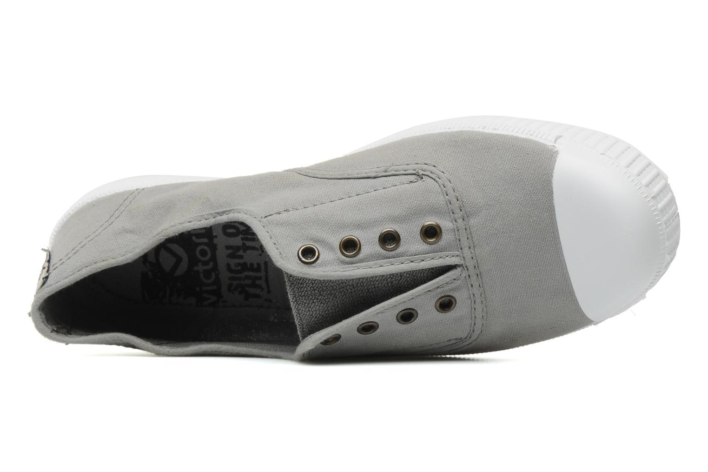 Sneaker Victoria Victoria Elastique W grau ansicht von links