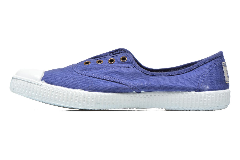 Sneakers Victoria Victoria Elastique W Blauw voorkant