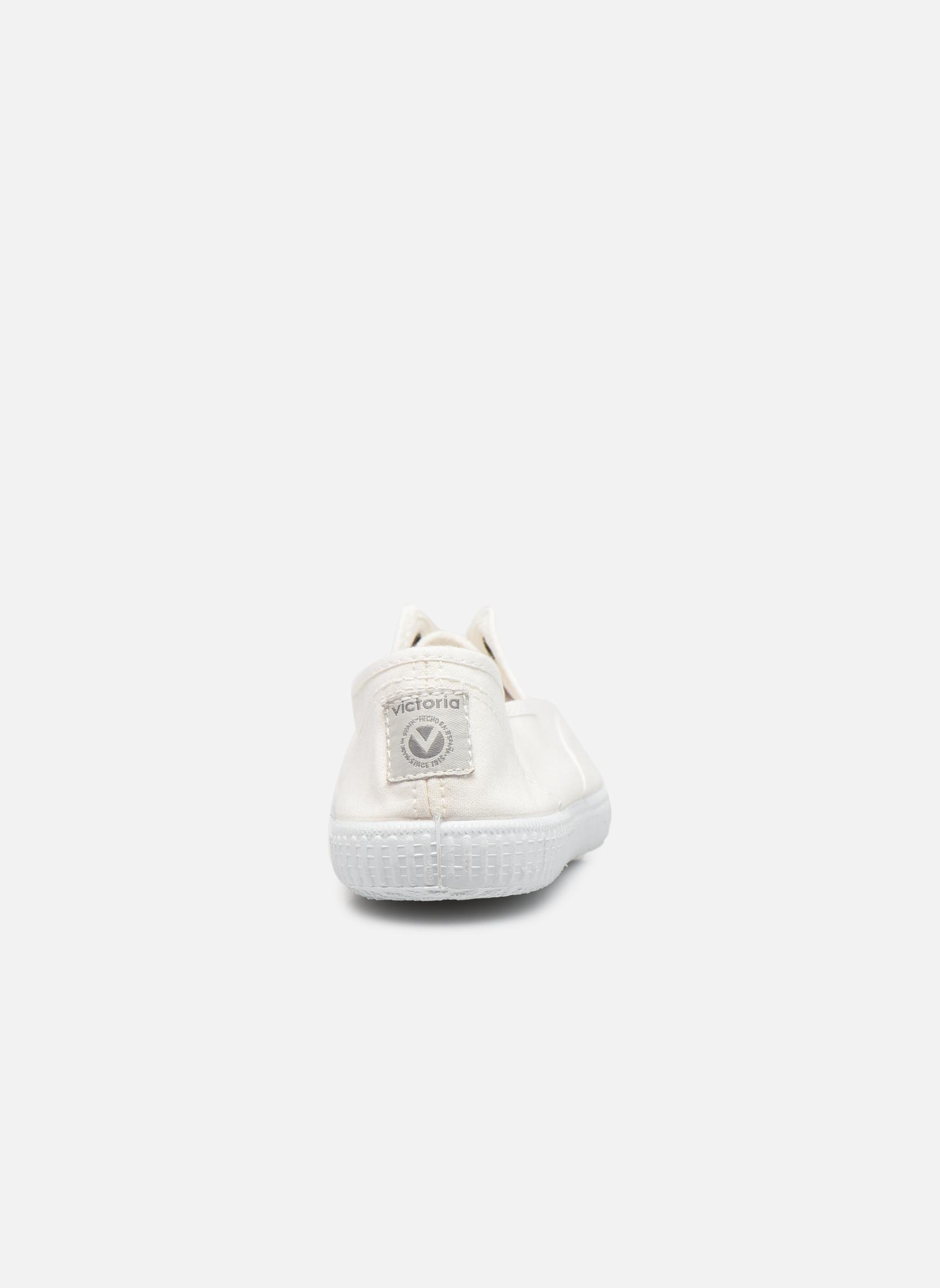 Sneaker Victoria Victoria Elastique W weiß ansicht von rechts