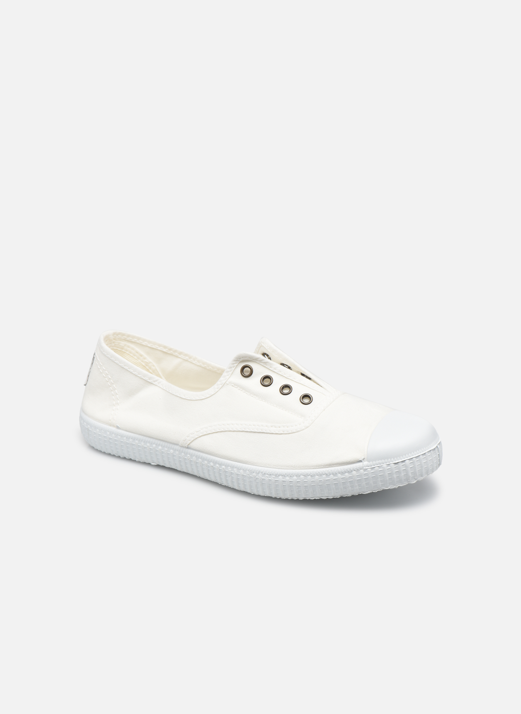 Trainers Victoria Victoria Elastique W White detailed view/ Pair view