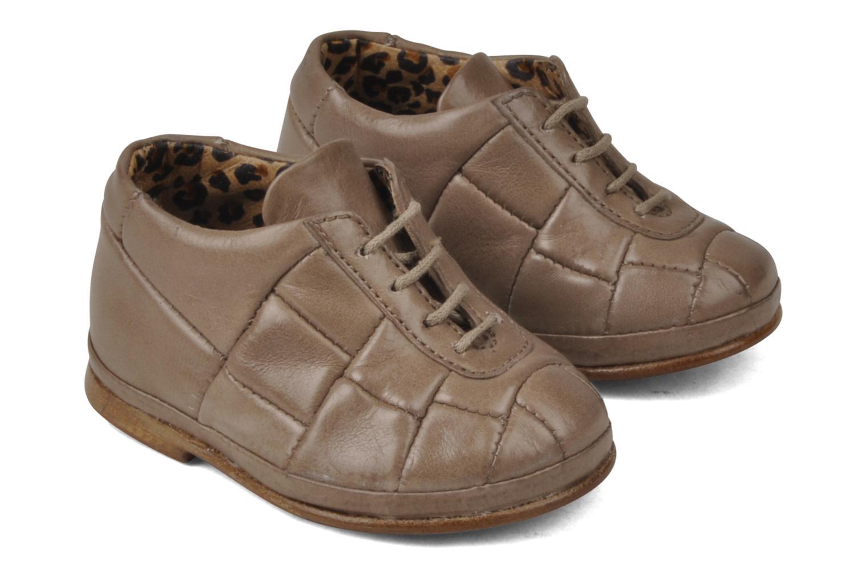 Bottines et boots Free Lance Layette Football Marron vue bas / vue portée sac