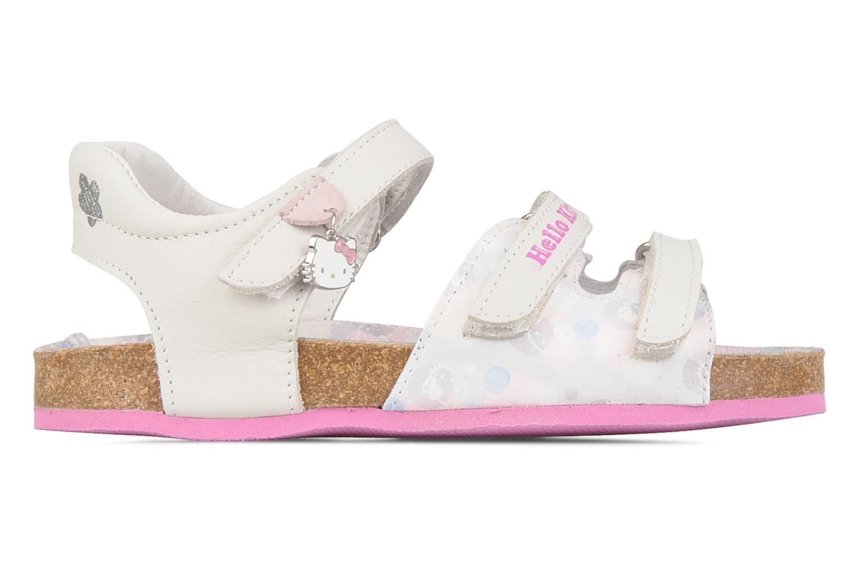 Sandales et nu-pieds Hello Kitty Kijou Blanc vue derrière