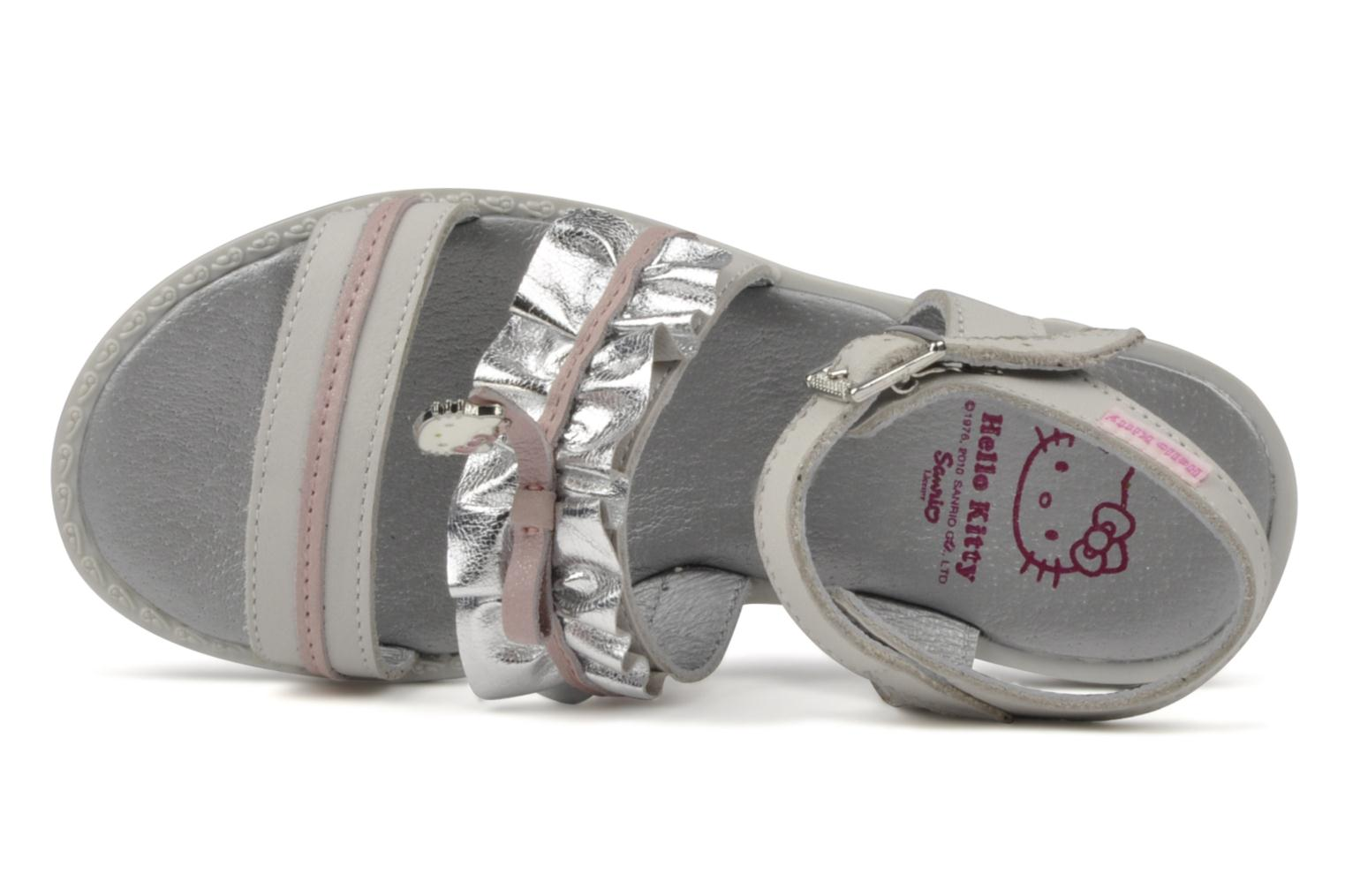 Sandals Hello Kitty Kidans White view from the left