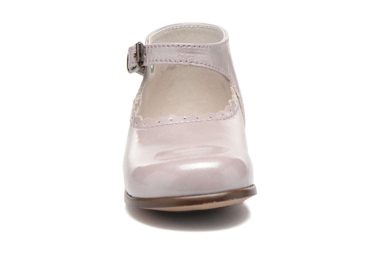 Ballerines Little Mary Vocalise Gris vue portées chaussures