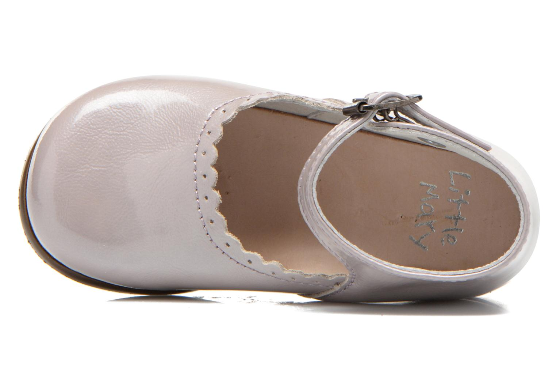 Ballerinas Little Mary Vocalise grau ansicht von links