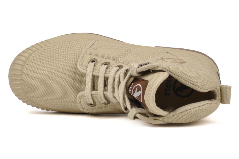 Sneakers Aigle Tenere 2 W Beige bild från vänster sidan