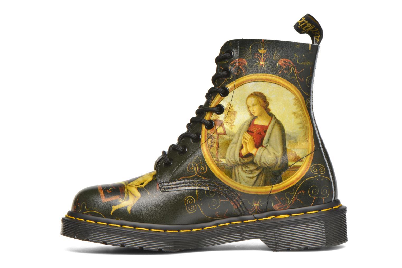 Boots en enkellaarsjes Dr. Martens Pascal W Zwart voorkant