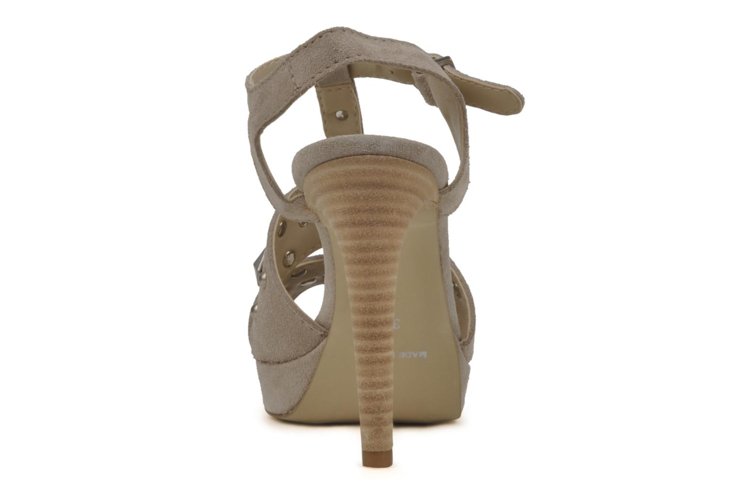 Sandals Eden Oreade Beige view from the right