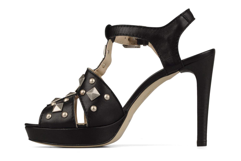 Sandales et nu-pieds Eden Oreade Noir vue face