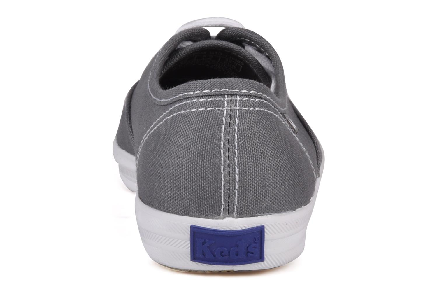 Trainers Keds Champion Canvas Grey view from the right