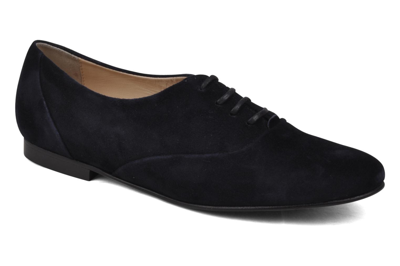 Zapatos con cordones Planisphere Nelly papaye Azul vista de detalle / par