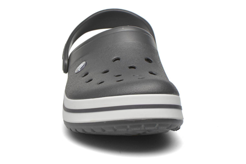 Sandalen Crocs Crocband M grau schuhe getragen