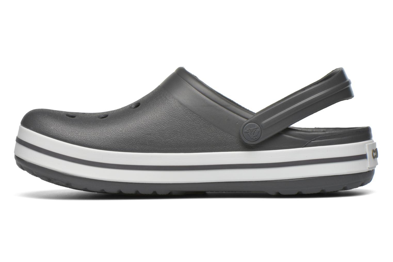 Sandalen Crocs Crocband M grau ansicht von vorne