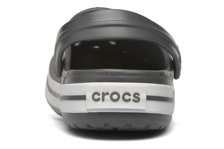 Sandalen Crocs Crocband M grau ansicht von rechts