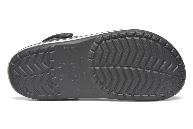 Sandalen Crocs Crocband M grau ansicht von oben