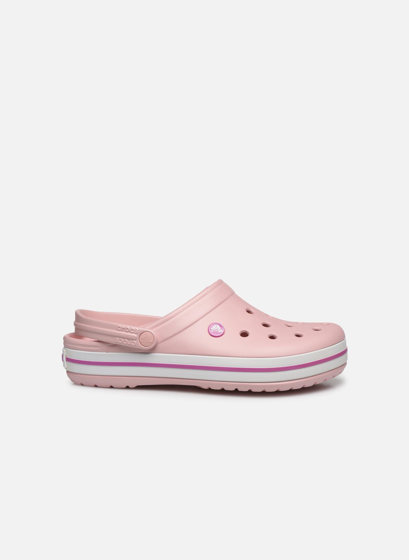 Sandales et nu-pieds Crocs Crocband M Rose vue derrière
