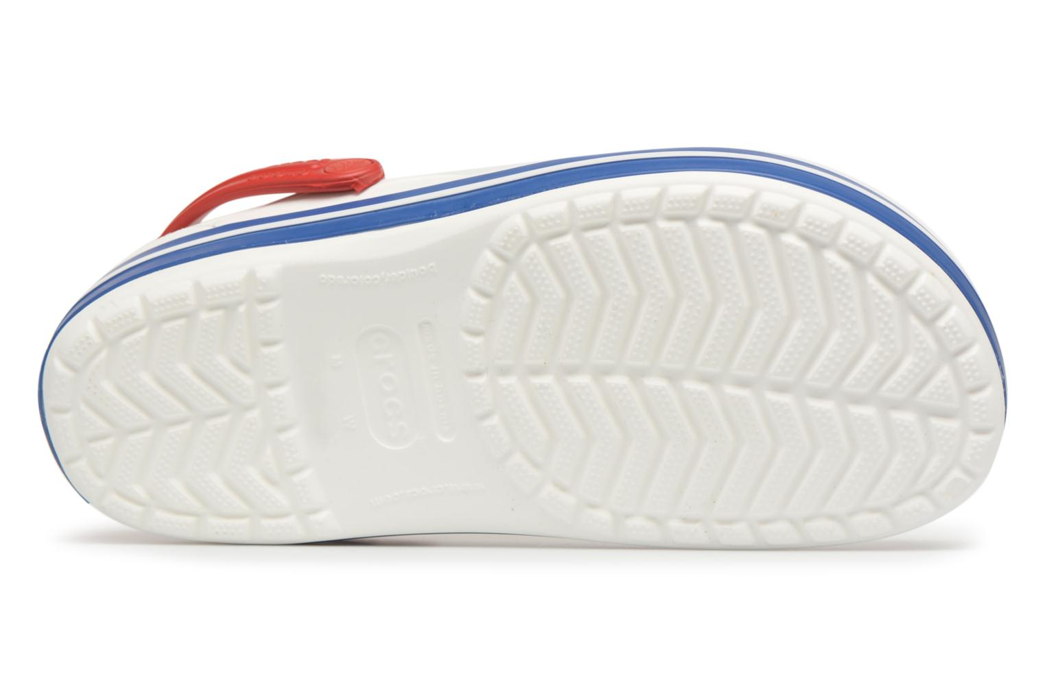 Sandals Crocs Crocband M White view from above