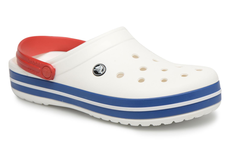 Crocband M White/Blue Jean