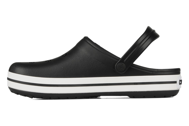 Sandalen Crocs Crocband M schwarz ansicht von vorne