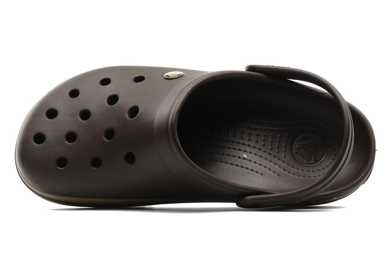 Sandalen Crocs Crocband M Bruin links