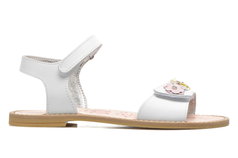 Sandales et nu-pieds Primigi Violetta Blanc vue derrière