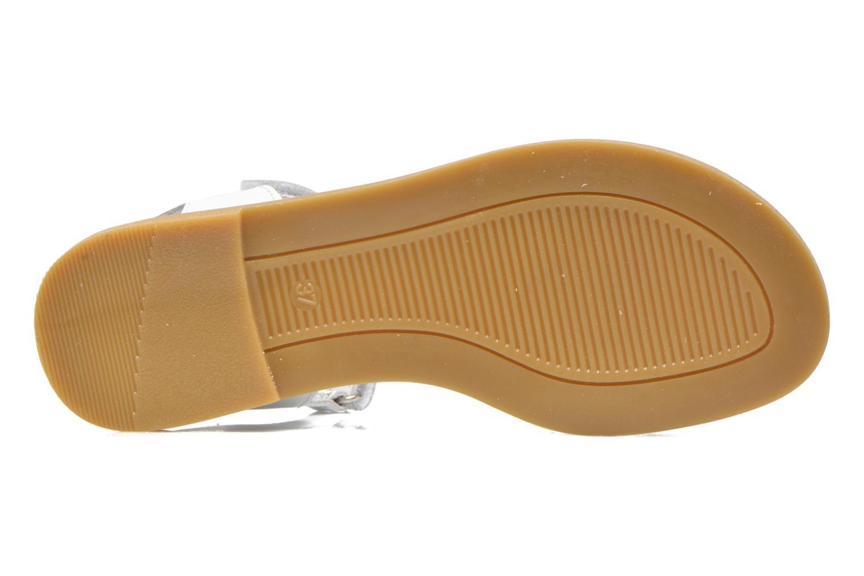 Sandales et nu-pieds Primigi Violetta Blanc vue haut