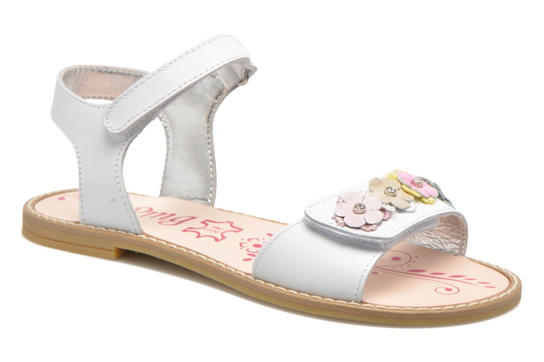 Sandals Primigi Violetta White detailed view/ Pair view