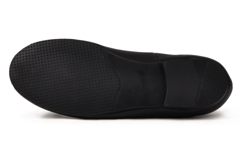 Francesca Black leather