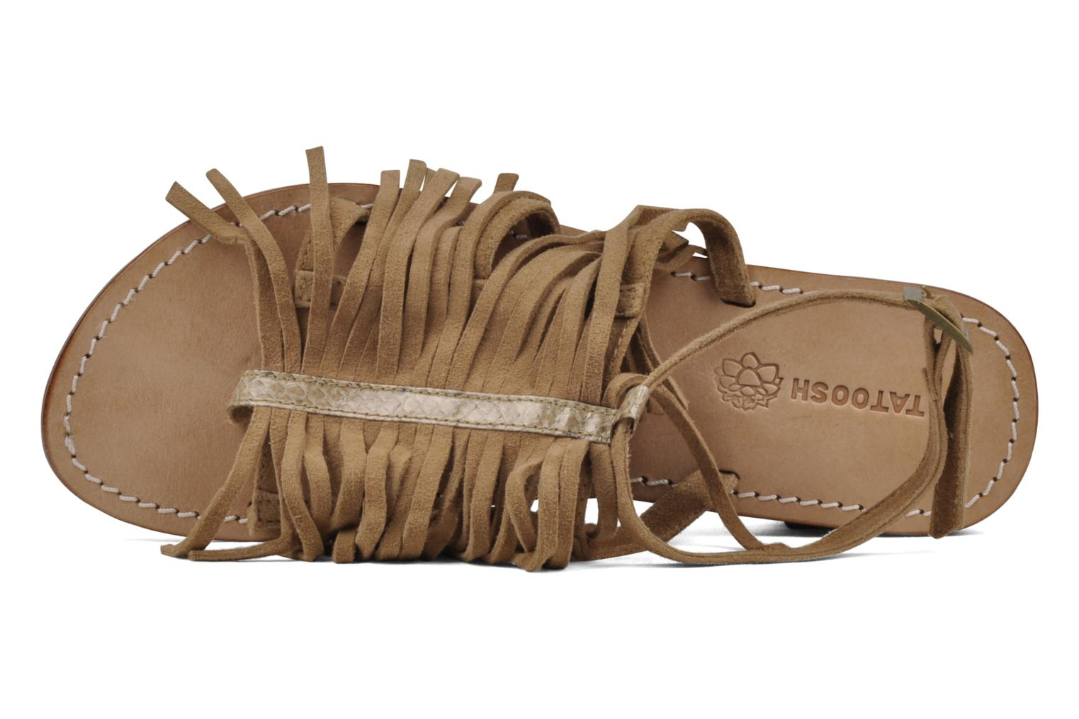 Sandals Tatoosh Ava Beige view from the left