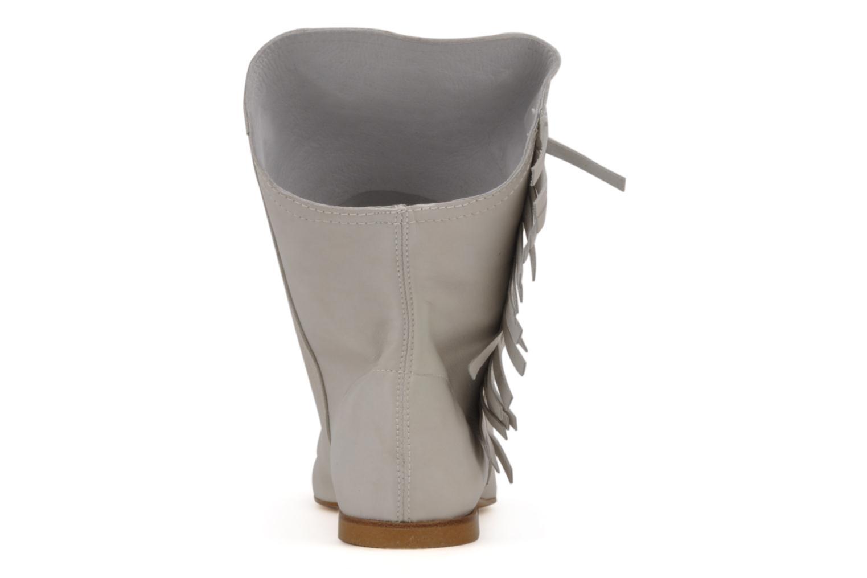 Bottines et boots Tatoosh Apache Blanc vue droite