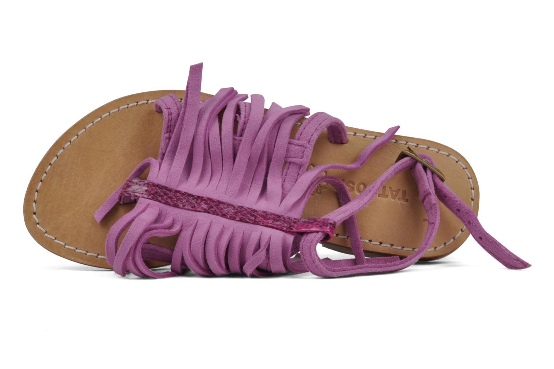 Sandali e scarpe aperte Tatoosh Ava Kids Rosa immagine sinistra