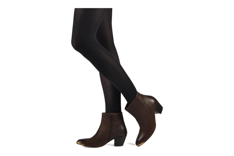Stiefeletten & Boots Jonak Doddy schwarz ansicht von unten / tasche getragen