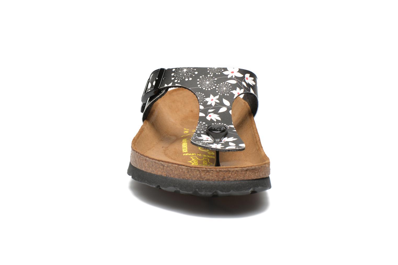 Flip flops Papillio Gizeh Flor W Black model view