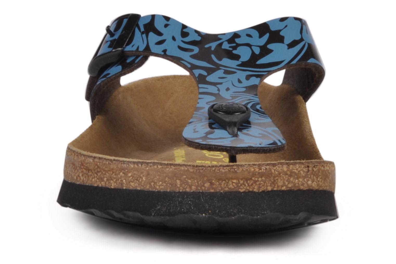 Tongs Papillio Gizeh Flor W Bleu vue portées chaussures